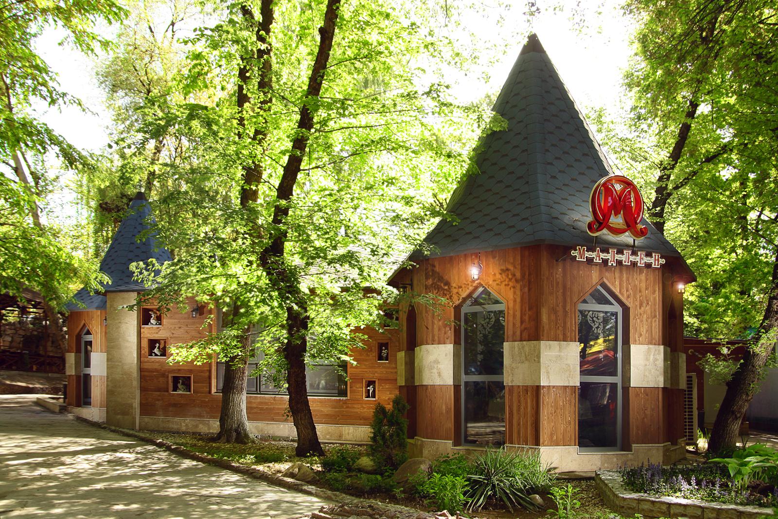 Кофейня Мадлен Family, г. Шымкент, этнопарк Кен-Баба